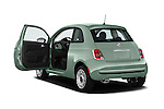 Car images of 2017 Fiat 500 Pop 3 Door Hatchback Doors