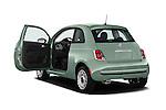 Car images of 2017 Fiat 500 Pop 3 Door Hatchback Doors