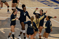 Bentonville West celebrates point against Rogers at Rogers High School, Rogers, AR, on Thursday, September 9, 2021 / Special to NWADG David Beach
