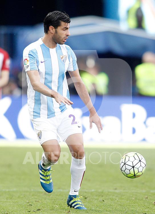 Malaga CF's Miguel Torres during La Liga match. April 23,2016. (ALTERPHOTOS/Acero)