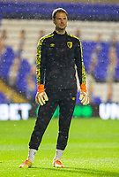 2nd October 2020; St Andrews Stadium, Coventry, West Midlands, England; English Football League Championship Football, Coventry City v AFC Bournemouth; AFC Bournemouth Goalkeeper Asmir Begovic during the warm up
