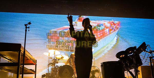 LAS VEGAS, NV - April 14, 2017: ***HOUSE COVERAGE*** Bastille performs at The Chelsea at The Cosmopolitan of Las Vegas in Las Vegas, NV on April 14, 2017. <br /> CAP/MPI/EKP<br /> ©EKP/MPI/Capital Pictures