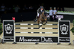 Olivier Philippaerts on H&M Challenge v. Begijnakker competes during Longines Grand Prix at the Longines Masters of Hong Kong on 21 February 2016 at the Asia World Expo in Hong Kong, China. Photo by Li Man Yuen / Power Sport Images