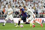 Real Madrid CF's Luka Modric, Carlos Henrique Casemiro and FC Barcelona's Leo Messi during La Liga match. March 02,2019. (ALTERPHOTOS/Alconada)
