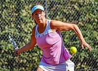 Hilversum, The Netherlands, September 2, 2018,  Tulip Tennis Center, NKS, National Championships Seniors, Women's 55+ final: Mirjam van den Tillaar (NED) <br /> Photo: Tennisimages/Henk Koster
