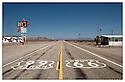 Californie-Route 66<br /> Désert de Mojave<br /> Amboy