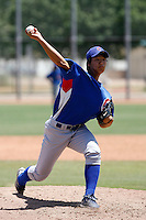 Su-Min Jung -  Chicago Cubs - 2009 extended spring training.Photo by:  Bill Mitchell/Four Seam Images