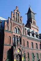 Neogotisches Postamt  in Klaipeda, Litauen, Europa