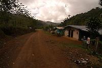 The town of Brujo, Costa Rica.