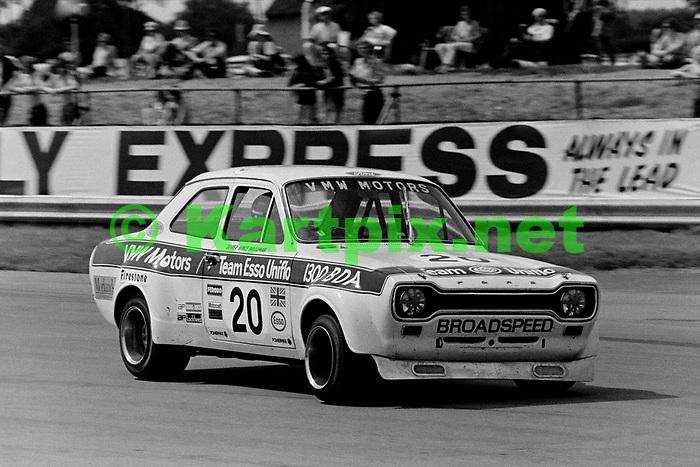 Vince Woodman, 1973 John Player British Grand Prix support race.