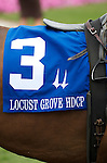 5 July 2009: Closeout in the paddock before the 28th running of the G3 Locust Grove Handicap at Churchill Downs in Louisville, Kentucky.
