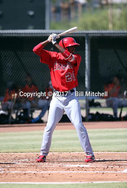Trent Deveaux - 2017 AIL Angels (Bill Mitchell)