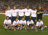 Men's National Team, USA vs. Haiti, 2004.