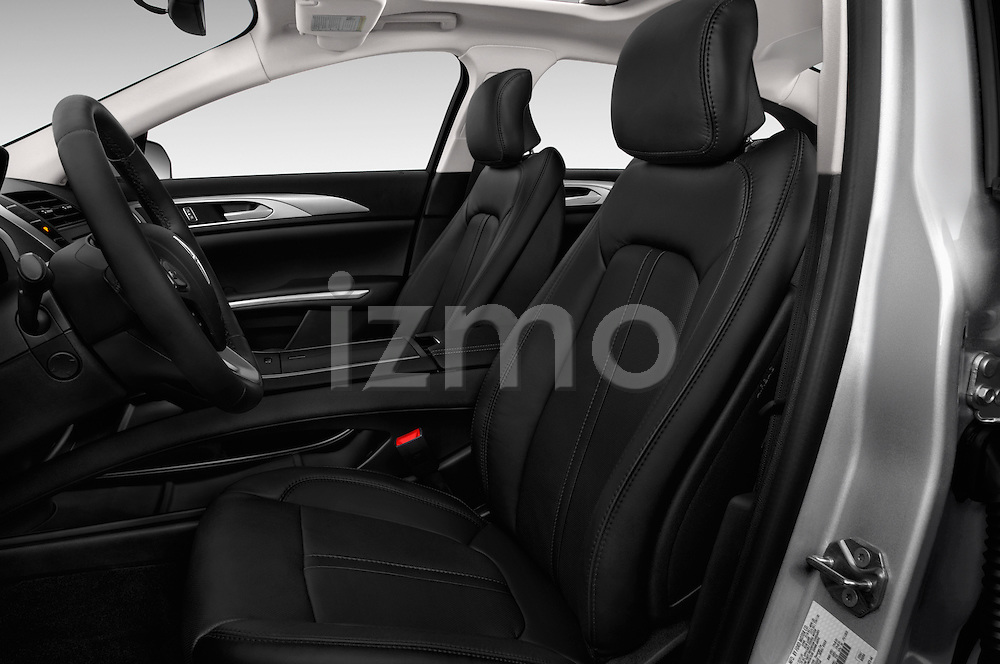 Front seat view of 2016 Lincoln MKZ Hybrid 4 Door Sedan Front Seat  car photos