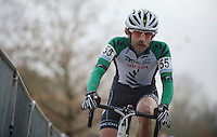 Alexander 'Moustache' Revell (NZL)<br /> <br /> Vlaamse Druivencross Overijse 2013