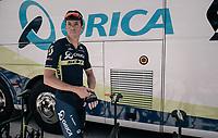 Mathew Hayman (AUS/Orica-Scott) getting ready to race<br /> <br /> 104th Tour de France 2017<br /> Stage 14 - Blagnac › Rodez (181km)