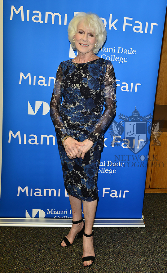 "MIAMI, FL - FEBRUARY 06: Radio host/author Diane Rehm during her signing of her new book ""When My Time Comes"" Presented in collaboration with Miami Book Fair and Books and Books at Miami Dade College-Wolfson Auditorium on February 6, 2020 in Miami, Florida.   ( Photo by Johnny Louis / jlnphotography.com )"