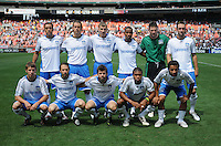 San Jose Earthquakes team photo ,DC United defeated The San Jose Earthquakes 3-1, at RFK Stadium in Washington DC, Sunday June 22, 2008.