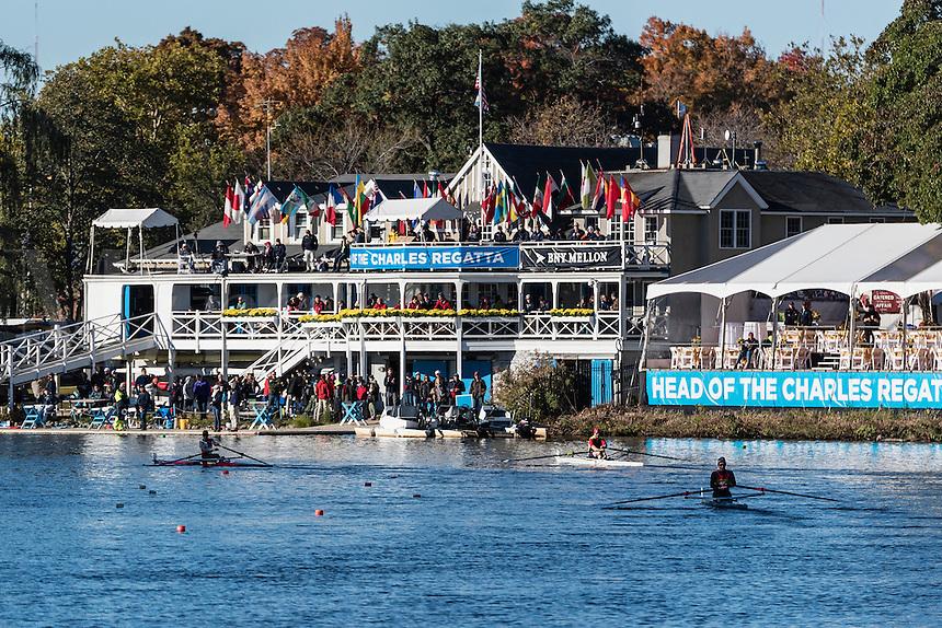 Head of the Charles regatta 2015, Harvard University, Cambridge,  Massachusetts, USA