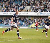 GOAL - Millwall's Aiden O'Brien makes it 2-2 during the Sky Bet Championship match between Millwall and Ipswich Town at The Den, London, England on 15 August 2017. Photo by Carlton Myrie.