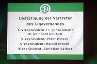 Kandidaten zur Wahl der Vertreter des Ligaverbandes<br /> 39. Ordentlicher DFB-Bundestag in der Rheingoldhalle<br /> *** Local Caption *** Foto ist honorarpflichtig! zzgl. gesetzl. MwSt. Es gelten ausschließlich unsere unter <br /> <br /> Auf Anfrage in hoeherer Qualitaet/Aufloesung. Belegexemplar an: Marc Schueler, Am Ziegelfalltor 4, 64625 Bensheim, Tel. +49 (0) 6251 86 96 134, www.gameday-mediaservices.de. Email: marc.schueler@gameday-mediaservices.de, Bankverbindung: Volksbank Bergstrasse, Kto.: 151297, BLZ: 50960101