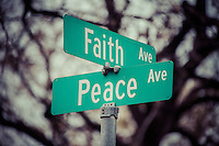 In Faith Comes Peace