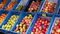Nederland  Amsterdam -  2020. Turkse supermarkt. Fruit in kratjes. Foto : ANP/ HH / Berlinda van Dam