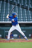 AZL Cubs 1 Pedro Martinez (11) at bat during an Arizona League game against the AZL D-backs on July 25, 2019 at Sloan Park in Mesa, Arizona. The AZL D-backs defeated the AZL Cubs 1 3-2. (Zachary Lucy/Four Seam Images)