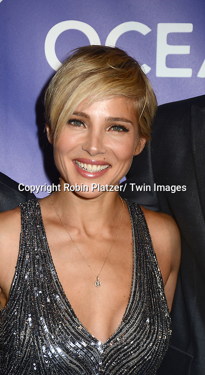 Elsa Pataky attend the Inaugural Oceana Ball on April 8, 2013 at Christie's in New York City.
