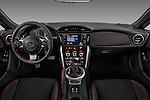Stock photo of straight dashboard view of 2018 Subaru BRZ Limited 2 Door Coupe Dashboard