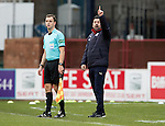 Dundee v St Johnstone….31.12.16     Dens Park    SPFL<br />Paul Hartley shouts instructions<br />Picture by Graeme Hart.<br />Copyright Perthshire Picture Agency<br />Tel: 01738 623350  Mobile: 07990 594431