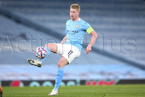 3rd November 2020; City of Manchester Stadium, Manchester, England. UEFA Champions League group stages, Manchester City versus Olympiacos;  Kevin De Bruyne  Manchester City