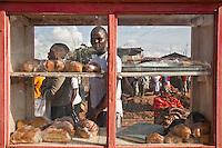 Moses Omondi, poet, spoken word artist, bread-seller Nairobi, Kenya, March 26,2011