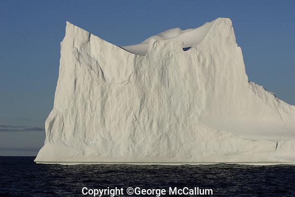 Large Free floating Iceberg, NE Baffin Bay, Greenland
