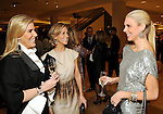From left: Honorees Courtney Hopson and Courtney Fertitta talk with the Chronicle's Lindsey Love at the Houston Chronicle's Best Dressed announcement party at Neiman Marcus Tuesday Jan. 19,2010.(Dave Rossman/For the Chronicle)