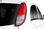 Tail light close up detail view of a 2012 Mitsubishi MiEV SE