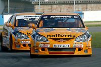 Round 1 of the 2005 British Touring Car Championship. #5. Matt Neal (GBR). Team Halfords. Honda Integra Type R.