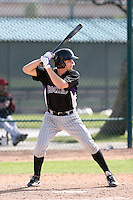 Joseph Scott, Colorado Rockies 2010 minor league spring training..Photo by:  Bill Mitchell/Four Seam Images.