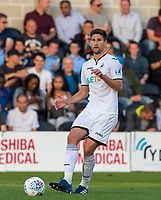Federico Fernandez of Swansea City during the 2017/18 Pre Season Friendly match between Barnet and Swansea City at The Hive, London, England on 12 July 2017. Photo by Andy Rowland.