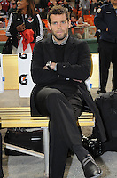 DC United Head Coach Ben Olsen.   DC United defeated The Columbus Crew  3-1 at the home season opener, at RFK Stadium, Saturday March 19, 2011.