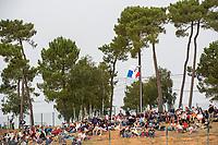 Fans wait for the start, 24 Hours of Le Mans , Race, Circuit des 24 Heures, Le Mans, Pays da Loire, France
