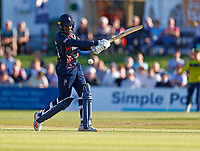Daniel Bell-Drummond hits out for Kent during Kent Spitfires vs Hampshire Hawks, Vitality Blast T20 Cricket at The Spitfire Ground on 9th June 2021