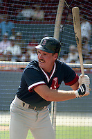 Boston Red Sox Wade Boggs during spring training circa 1989 at Chain of Lakes Park in Winter Haven, Florida.  (MJA/Four Seam Images)