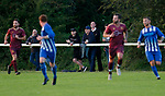Pix Magi Haroun 26.08.2020<br /> <br /> REPORTER: Gideon Brooks:<br /> Pix shows the first crowd of 150 fans let in to watch Daisy Hill FC v Bury FC. Also Chairman of Bury Chris Murray enjoying his 1st match as Chairman watching with fans