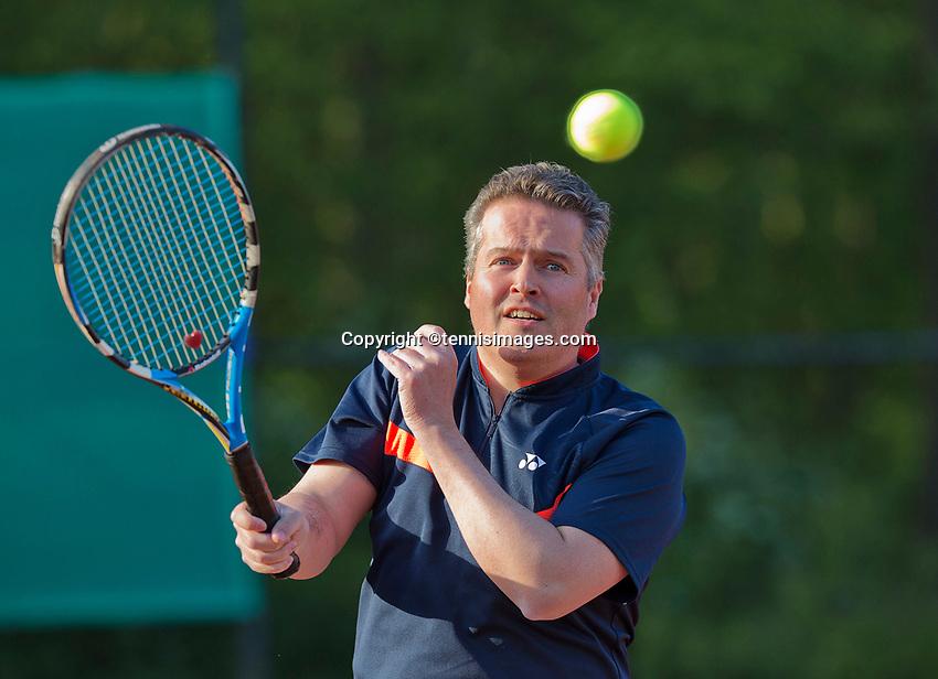 The Netherlands, May 1, 2015, Vianen, Marco Verhoef<br /> Photo: Tennisimages/Henk Koster