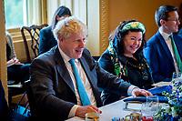 Bipartisan group of Senators meet with UK Prime Minister Boris Johnson at US Capitol