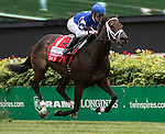 LOUISVILLE, KY - MAY 07: Tepin #1, ridden by Julien Leparoux, wins the Churchill Distaff Turf Mile on May 7, 2016 in Louisville, Kentucky. (Photo by Sue Kawczynski/Eclipse Sportswire/Getty Images)
