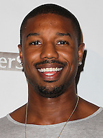 HOLLYWOOD, LOS ANGELES, CA, USA - SEPTEMBER 18: Michael B. Jordan arrives at the 'Get Lucky For Lupus' 6th Annual Poker Tournament held at Avalon on September 18, 2014 in Hollywood, Los Angeles, California, United States. (Photo by Celebrity Monitor)