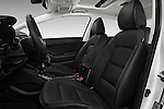 Front seat view of 2018 KIA Forte EX-AT 4 Door Sedan Front Seat  car photos