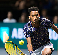 Rotterdam, The Netherlands, 16 Februari 2020, ABNAMRO World Tennis Tournament, Ahoy,<br /> Mens Single Final: Felix Auger-Alissime (CAN). <br /> Photo: www.tennisimages.com